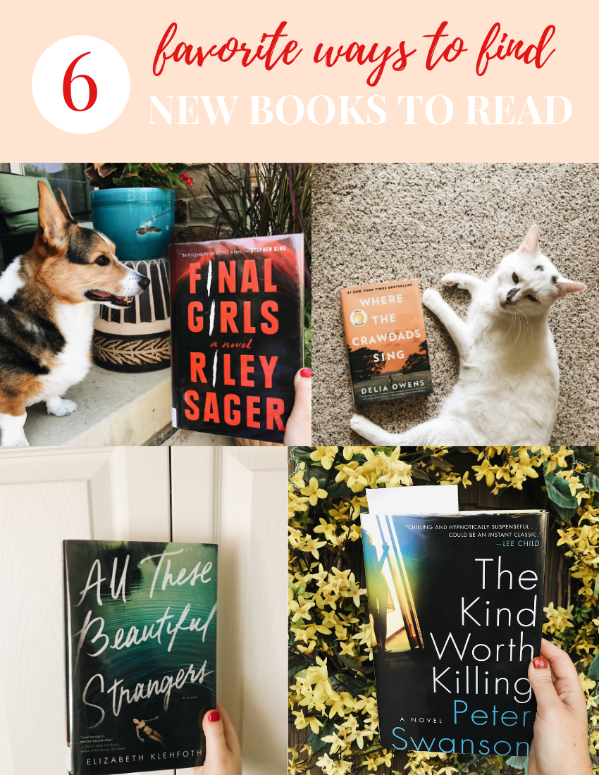 How To Find New Books to Read