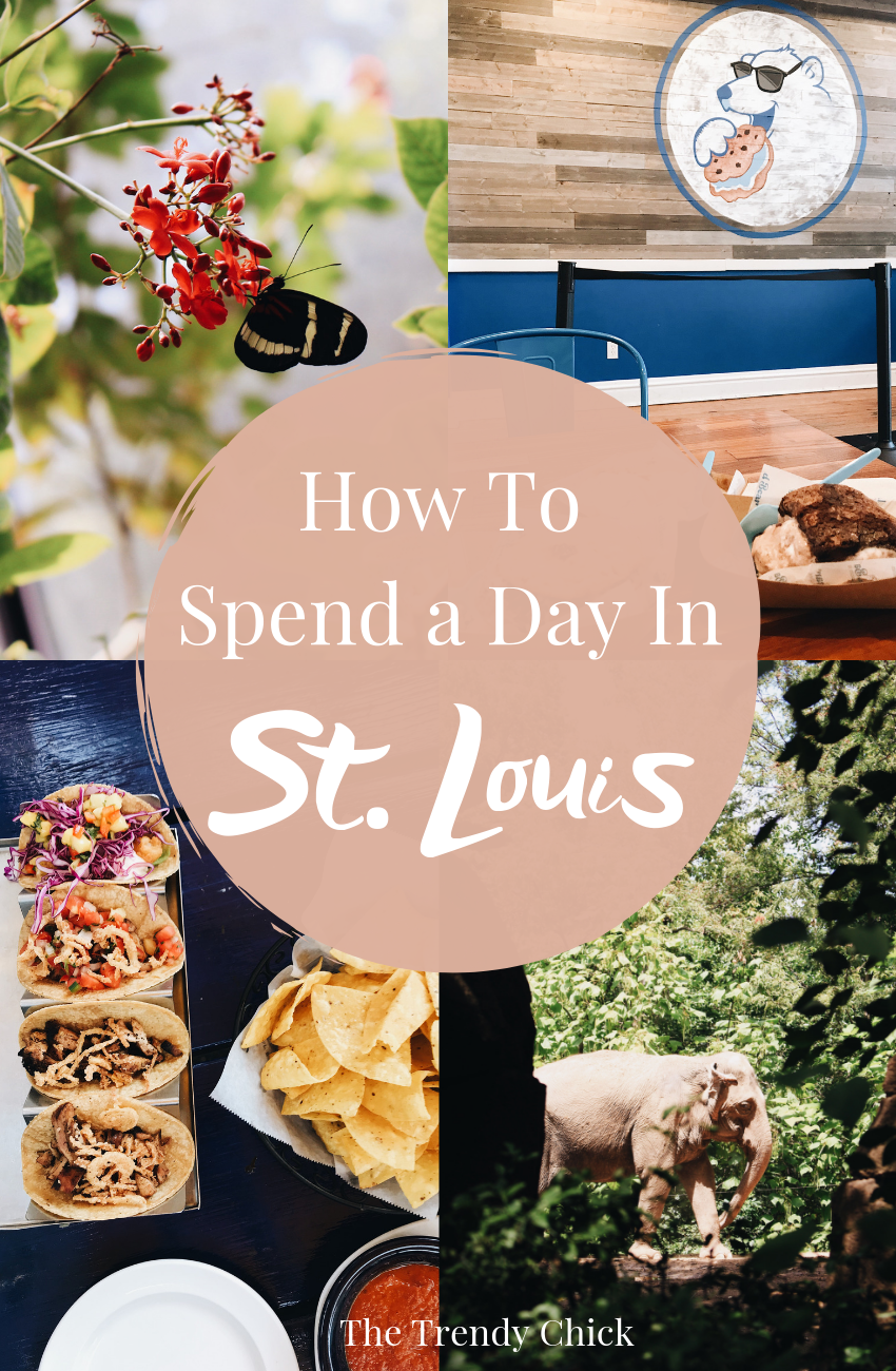 how to spend a day in St. Louis
